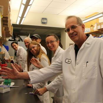 Group of lab techs
