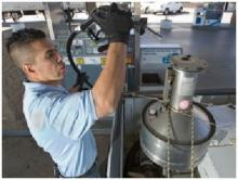 Gas pump inspection